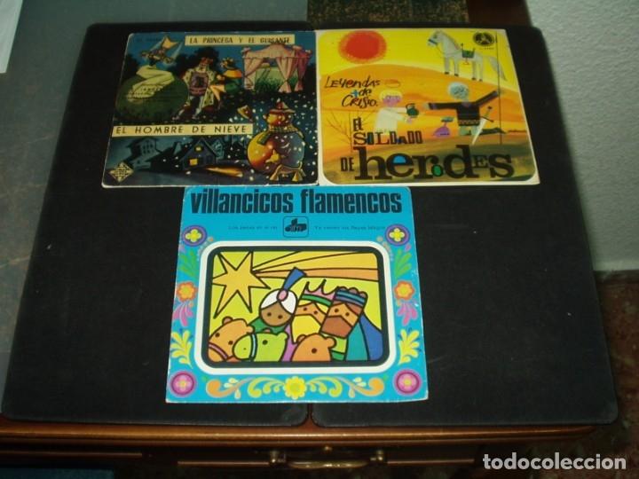 LOTE 3 SINGLE Y EP INFANTILES (Música - Discos de Vinilo - Maxi Singles - Música Infantil)