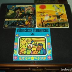 Discos de vinilo: LOTE 3 SINGLE Y EP INFANTILES. Lote 181892527