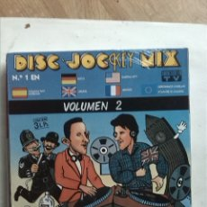 Discos de vinilo: DISC JOCKEY MIX VOL 2 - 3 LPS. Lote 181899132