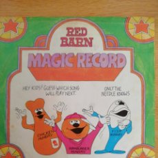 Discos de vinilo: MAGIC RECORD. RED BARN. MARK 56 RECORDS. ANAHEIM, CALIFORNIA.. Lote 181901560