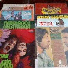 Discos de vinilo: HERMANOS CALATRAVA - LOTE DE 8 LP.S - BUEN ESTADO ENVIO GRATIS. Lote 181906497