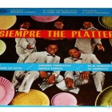 Discos de vinilo: V194 - THE PLATTERS. SIEMPRE THE PLATTERS. LP VINILO. Lote 181909082