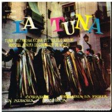 Discos de vinilo: TUNA HISPANOAMERICANA COLEGIO MAYOR NUESTRA SEÑORA DE GUADALUPE MADRID / LA AURORA +3 - EP 1961. Lote 181909787
