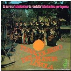 Discos de vinilo: TUNA DEL COLEGIO MAYOR LOYOLA - LA AURORA / ESTUDIANTINA / LA RONDALLA / +1 - EP 1965. Lote 181910137