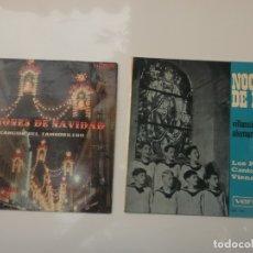 Discos de vinilo: LOTE DE 2 EPS DE VILLANCICOS. Lote 181916505