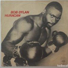Discos de vinilo: BOB DYLAN-HURACAN. Lote 181917256