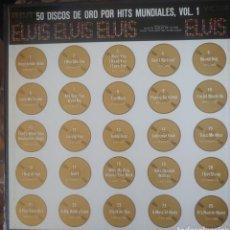 Discos de vinilo: ELVIS PRESLEY CAJA CON 4 LPS SELLO RCA VÍCTOR EDITADA EN ESPAÑA AÑO 1970.... Lote 181923546