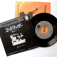 Discos de vinilo: NINO ROTA - LOVE THEME FROM THE GODFATHER (EL PADRINO) - SINGLE PARAMOUNT 1972 JAPAN BPY. Lote 181929101