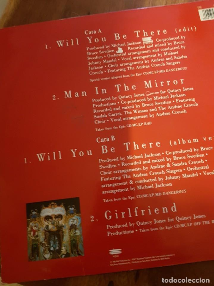 Discos de vinilo: Michael Jackson – Will You Be There - Foto 2 - 181933781