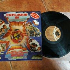 Discos de vinilo: THE BEATLES TWIST AND SHOUT EXPLOSION 60 LP VINILO 1978 ESPAÑA STATUS QUO THE ANIMALS THE MONKEES. Lote 181937371