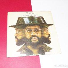 Discos de vinilo: BILLY PAUL --ME AND MRS. JONES / YOUR SONG --EDICION 1973. Lote 181819630