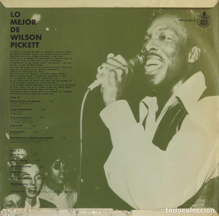 Discos de vinilo: WILSON PICKET. Lo mejor. LP Motown 1968 edición española - Foto 2 - 181946930
