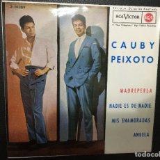 Discos de vinilo: CAUBY PEIXOTO, VINILO SINGLES, MADREPERLA, NADIE ES DE NADIE ETC. Lote 181946982