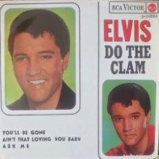 Discos de vinilo: ELVIS PRESLEY EP SELLO RCA VÍCTOR EDITADO EN ESPAÑA AÑO 1987.. Lote 181949491