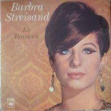 Discos de vinilo: BARBRA STREISAND CANTA EN FRANCÉS EP SELLO CBS EDITADO EN FRANCIA.. Lote 181950303