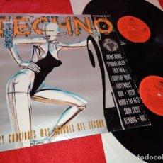 Discos de vinilo: TODO TECHNO II VOL 2LP 1993 CBS SPAIN ESPAÑA RECOPILATORIO DURAN DURAN+SPANDAU BALLET+TALK TALK+ETC. Lote 181951622