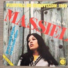 Discos de vinilo: MASSIEL - LA, LA, LA - 1968. Lote 181958816