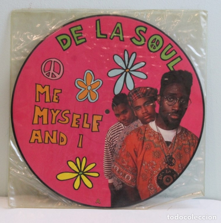 Discos de vinilo: Picture disc,De la Soul,Me myself & I,Tommy Boy,BCM records. - Foto 1 - 181967800