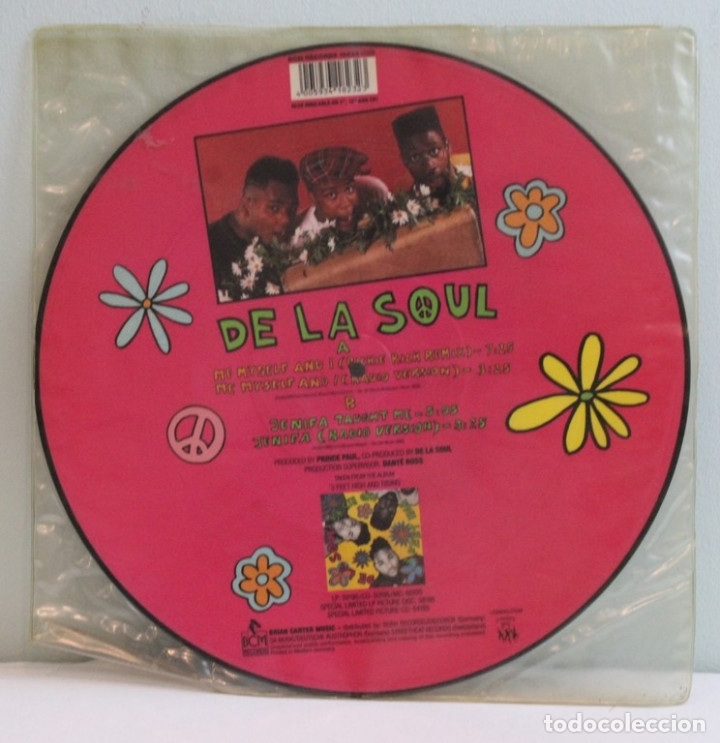 Discos de vinilo: Picture disc,De la Soul,Me myself & I,Tommy Boy,BCM records. - Foto 2 - 181967800