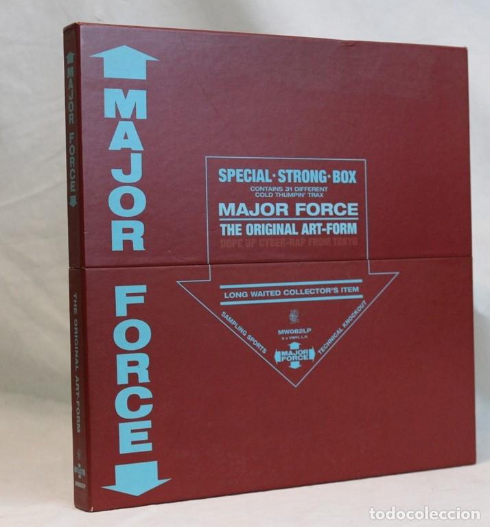 SET BOX DE CINCO 12 ,MAJOR FORCE,MO WAX,1997 (Música - Discos de Vinilo - Maxi Singles - Rap / Hip Hop)