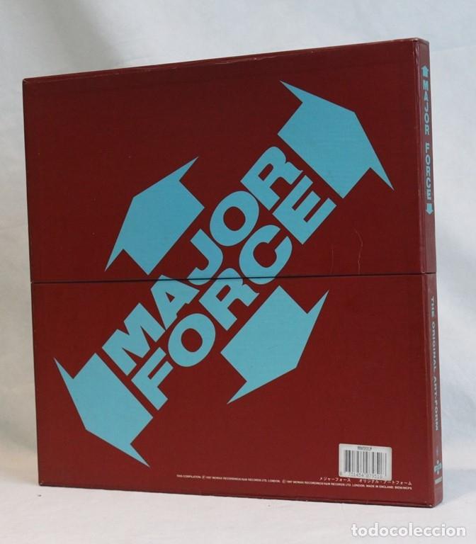 Discos de vinilo: Set box de cinco 12 ,Major Force,Mo Wax,1997 - Foto 2 - 181967888