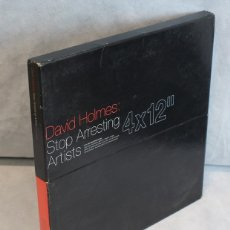 Discos de vinilo: STOP ARRESTING ARTISTS,DAVID HOLMES,GO BEAT,1998.. Lote 181967972