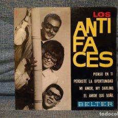 Discos de vinilo: LOS ANTIFACES - EL AMOR QUE SOÑÉ (LIKE DREAMERS DO-THE BEATLES) + 3 EP BELTER 51.506 AÑO 1965 EX /EX. Lote 181976896