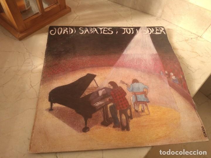 DISCO VINILO JORDI SABATÉS I TITO SOLER AÑO 1973 EDIGSA (Música - Discos de Vinilo - Maxi Singles - Cantautores Españoles)