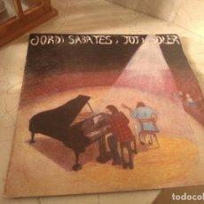 Discos de vinilo: DISCO VINILO JORDI SABATÉS I TITO SOLER AÑO 1973 EDIGSA. Lote 181985547
