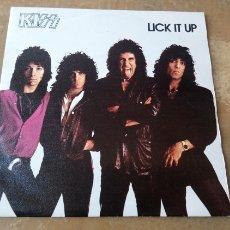 Discos de vinilo: KISS - LICK IT UP. SINGLE VINILO ORIGINAL 1983 - MUY BUEN ESTADO -. Lote 181990231