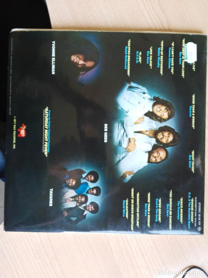 Discos de vinilo: VINILO DOBLE LP FIEBRE DEL SABADO NOCHE - Foto 3 - 181993303