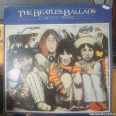 Discos de vinilo: THE BEATLES BALLADS, 20 ORIGINAL TRACKS. Lote 182003407