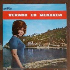 Discos de vinilo: EP - VERANO EN MENORCA (CANTA CARMEN ESBRI). Lote 182005052