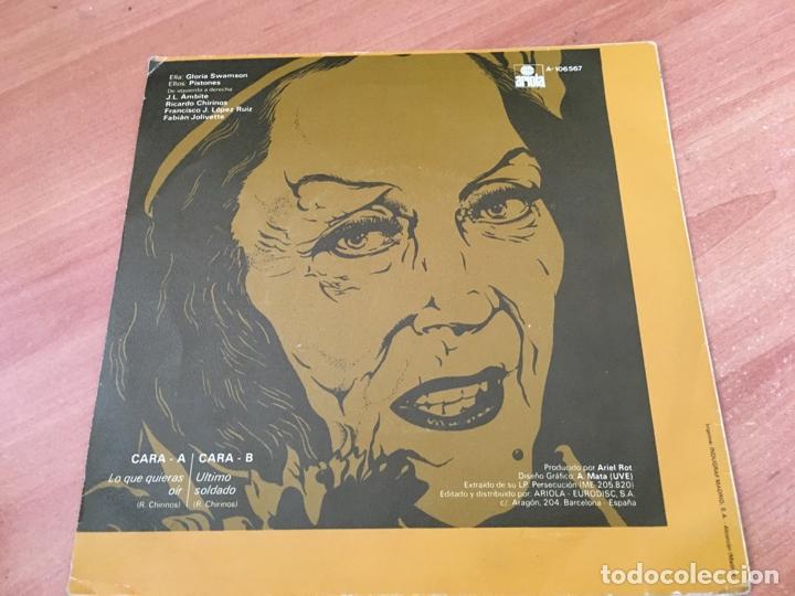 Discos de vinilo: PISTONES (LO QUE QUIERES OIR) SINGLE SPAIN 1984 (EPI04) - Foto 3 - 182006805