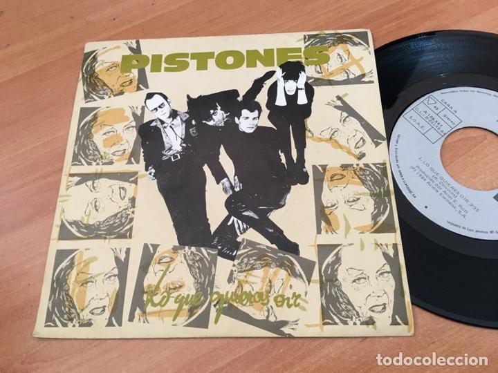 PISTONES (LO QUE QUIERES OIR) SINGLE SPAIN 1984 (EPI04) (Música - Discos - Singles Vinilo - Grupos Españoles de los 70 y 80)