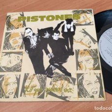 Discos de vinilo: PISTONES (LO QUE QUIERES OIR) SINGLE SPAIN 1984 (EPI04). Lote 182006805