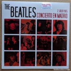 Discos de vinilo: THE BEATLES - CONCIERTO EN MADRID - LP+CD+LIBRETO. Lote 182008075