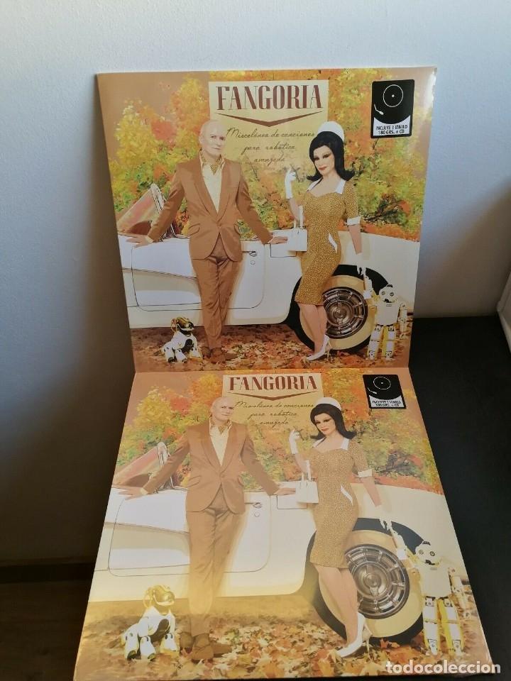 LP FANGORIA - MISCELANEA DE CANCIONES PARA ROBOTICA AVANZADA - LP+CD - ALASKA (Música - Discos de Vinilo - EPs - Grupos Españoles de los 90 a la actualidad)