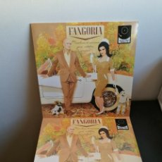 Discos de vinil: LP FANGORIA - MISCELANEA DE CANCIONES PARA ROBOTICA AVANZADA - LP+CD - ALASKA. Lote 182008577