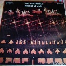 Discos de vinilo: THE PENTANGLE & BASKET OF LIGHT - 2 LP -TRANSATLANTIC-GUIMBARDA EDICIÓN 1980 - Nº SERIE: DD-22025/26. Lote 182011635