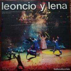 Discos de vinilo: LEONCIO Y LENA. OPERA PARA ACTORES CON MÚSICA DE F. IBARRA. UNAM, MÉXICO. 2 VINILOS. Lote 182013567