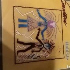 Discos de vinilo: SANTANA HOLD ON. Lote 182014576