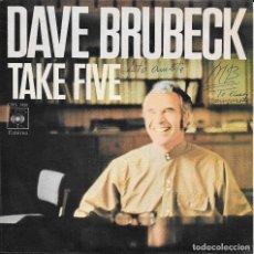 Discos de vinilo: DAVE BRUBECK TAKE FIVE CBS 1971. Lote 182029736