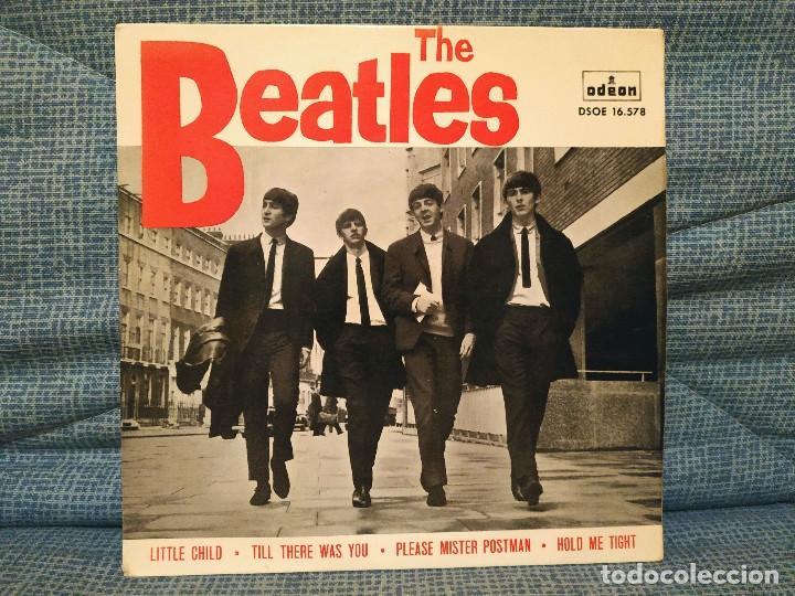 THE BEATLES - LITTLE CHILD + 3 - RARO EP ODEON - DSOE 16.578 EN EXCELENTE ESTADO, VER FOTOS (Música - Discos de Vinilo - EPs - Pop - Rock Extranjero de los 50 y 60)