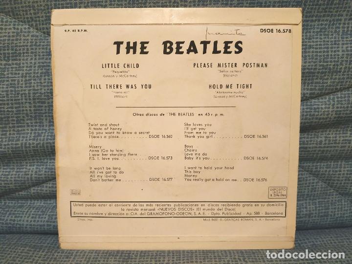 Discos de vinilo: The Beatles - Little child + 3 - Raro EP Odeon - DSOE 16.578 en excelente estado, ver fotos - Foto 2 - 182030861