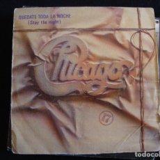 Discos de vinilo: CHICAGO - STAY THE NIGHT. Lote 182038733