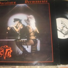 Discos de vinilo: PARALISIS PERMANENTE. EL ACTO.+ENCARTE (TRES CIPRESES 1982) OG ESPAÑA LEA DESCRIPCION. Lote 182041451
