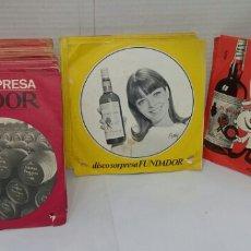 Discos de vinilo: LOTE 62 DISCO SORPRESA FUNDADOR. SIN USO. EP'S. ENTRE EL 10074 Y 10193. SINGLE. VINILOS SIN ESTRENAR. Lote 182045407
