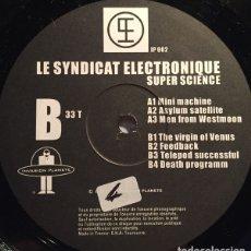 Discos de vinilo: LE SYNDICAT ELECTRONIQUE – SUPER SCIENCE. Lote 182047735