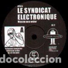 Discos de vinilo: LE SYNDICAT ELECTRONIQUE – WESTMOON ORDER / KUBLER'S LABORATORY. Lote 182048146
